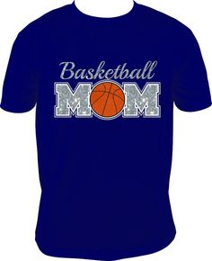 Basketball Mom Shirt for Adults S-3XL
