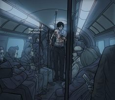 Sherlock on the tube