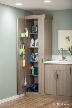 Laundry Organizers & Organization Systems | Custom Closets by Kenney-Moise, Inc. - Mobile and Baldwin Counties of AL