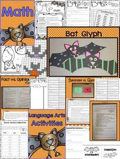 BATS: A LITERACY EXTRAVAGANZA - Explore fiction and nonfiction reading strategies while learning about bats!