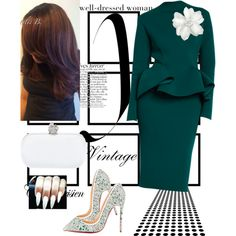 State Meeting by cogic-fashion on Polyvore featuring polyvore, fashion, style, Christian Louboutin, Alexander McQueen and Lanvin