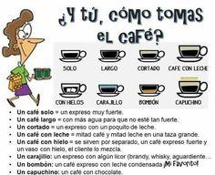 Cómo tomas el #café