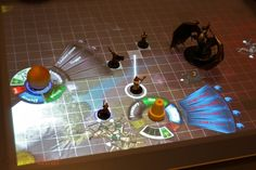 Tabletop game using Microsoft Surface Technology