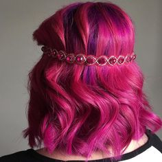 Love is in the air pink hair - Cupid & blush