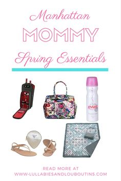 Everything city moms need to enjoy a fabulous Spring season with their babies and kids