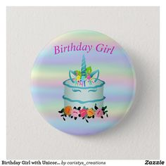 Party Accessories, Personalized Gifts, Unicorn, Birthdays, Mermaid, Buttons, Stickers, Mugs, Anniversaries