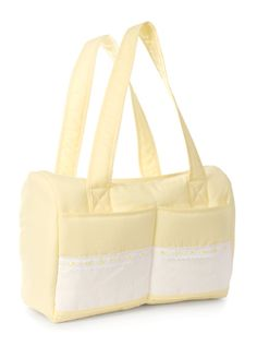 Utility Bag Size: 380 x 255 x 180mm; Area for embroidery: 350 x 70mm.