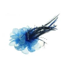 Dark Blue Fascinator