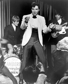 """""""Double Trouble"""" - Elvis Presley later said about the film: """"I wasn't exactly a James Bond in this movie. But then, no one ever asked Sean Connery to sing a song while dodging bullets""""."""
