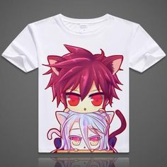 No Game No Life Short Sleeve Anime T-Shirt - OtakuForest.com