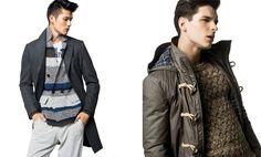 Benetton coats for men 2013. Beautiful sweater!