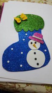 christmas-socks-craft-2 | Crafts and Worksheets for Preschool,Toddler and Kindergarten