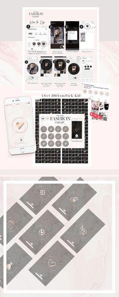 Marble Black Rose Gold Instagram Highlight Storys   A MashUp Themes  #instagramstorys #instagram #instagramicons #highlightstoryss #instagramhighlights #instagramhighlight
