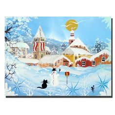 Kitzbuehel by Herbet Hofer Painting Print on Wrapped Canvas
