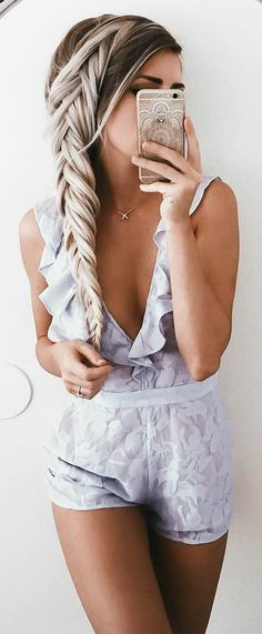super cool romper to wear right now