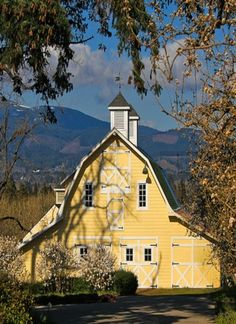 The grandeur! I love to see people taking such care in preserving the old barns. God bless them.--Libby
