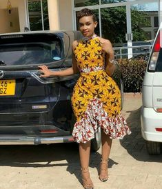 Latest Ankara Short Gown New Fashion Trending for Next Event.Latest Ankara Short Gown New Fashion Trending for Next Event Unique Ankara Styles, Ankara Styles For Women, Ankara Gown Styles, Latest Ankara Styles, Ankara Dress, Dress Styles, Latest African Fashion Dresses, African Dresses For Women, African Print Dresses