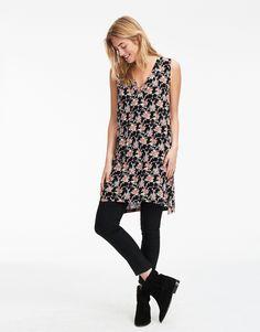 KAILEY tunic Black | Print | Tunic | Tunic | Fashion | Indiska.com