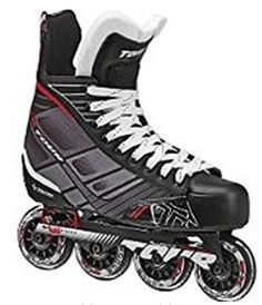 Tour Hockey Senior Inline Hockey Skate, Size Tour continues to innovate and bring the latest to the roller hockey market. The SENIOR is a great looking Hockey skate. A skate that a young player likes to wear with the versatility that a parent can love. Inline Hockey, Air Hockey, Roller Hockey Skates, Skate Store, Inline Skating, Black White Red, Roller Skating, Ice Skating, Leotards