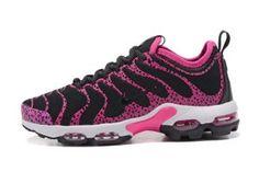 45a38bf0cd Nike Air Max Plus TN Ultra Black Pink White 881560 439 Mens Womens Shoes  Nike Air