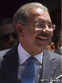 Dominican Republic :President-elect Danilo Medina