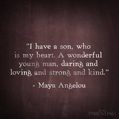 Every word is truth of my son