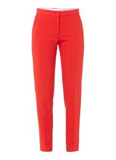 Maje Pantalon met steekzakken • de Bijenkorf van € 175 voor 87,50. Valt heeeel klein, zou voor een loose fit 42 willen maar die bestaat niet.