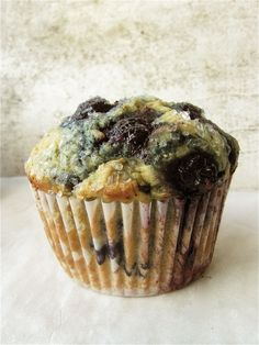 Recipe: Blueberry Flax Muffins