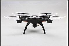 Creation® de Syma X5SC Exploradores 2.4G 4 canales Gyro RC sin cabeza Quadcopter con cámara HD - negro - http://www.midronepro.com/producto/creation-de-syma-x5sc-exploradores-2-4g-4-canales-gyro-rc-sin-cabeza-quadcopter-con-camara-hd-negro/