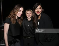 Zoe Lister-Jones, Nick Bomm and Hannah Simone attend the after party for the 2015 Los Angeles Film Festival Premiere Of Mister Lister Films' 'Consumed' at Hotel Figueroa on June 15, 2015 in Los Angeles, California.