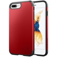 iPhone 7 Plus Case, LUVVITT [Ultra Armor] Shock Absorbing Case Best Heavy Duty Dual Layer Tough Cover for Apple iPhone 7 PLUS - Red. IPHONE 7 PLUS CASE : Compatible with Apple iPhone 7 Plus (2016). SOLID CONSTRUCTION: Double layer armor case design combines a protective German Bayer branded hard shell and a shock absorbing TPU core. LUVVITT ULTRA ARMOR iPhone 7 Plus Case only fits 5.5 inch screen iPhone 7 Plus. Search our other listing for iPhone 7 version of the same item. SLIM and…