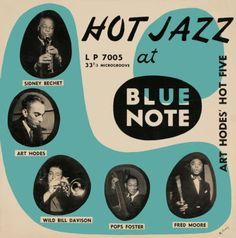 Blue Note LP cover