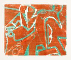 Grieshaber, HAP (Rot an der Rot 1909 - 1981 Achalm)Mädchen mit Gitarre.], Art des XXème et XXIème Siècles at Dr. Antique Paint, Objet D'art, Woodblock Print, Textile Prints, Hap Grieshaber, Illustration Art, Illustrations, Art Pictures, Printable Art
