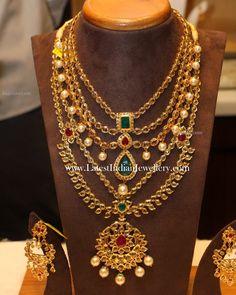 Latest Gold Bridal Jewellery Sets