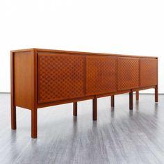 Velvet-Point - sideboards + regale Hochwertiges 60er Jahre Teak Sideboard…