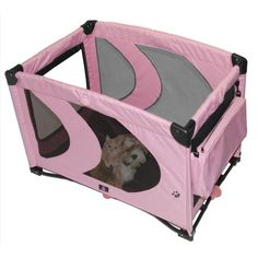 Pet Gear Home 'N Go Pet Pen for cats and dogs up to 30-pounds, Pink Ice - http://www.thepuppy.org/pet-gear-home-n-go-pet-pen-for-cats-and-dogs-up-to-30-pounds-pink-ice/