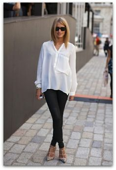 Art Symphony: White blouse