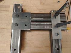 Bolt Together 2 X 72 Belt Grinder : 12 Steps (with Pictures) - Instructables 2x72 Belt Grinder Plans, How To Make Metal, Knife Grinder, Diy Knife, Belt Holder, Metal Fab, Sharpening Tools, Metal Tools, Homemade Tools