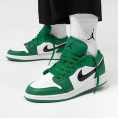 here is your chance to cop the Air Jordan 1 Low (GS) in Pine Green Now availabl. Sneakers Mode, Sneakers Fashion, Fashion Shoes, Shoes Sneakers, Nike Fashion, Footwear Shoes, Fashion 2020, Womens Fashion, Dr Shoes