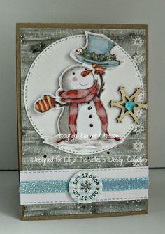 LOTV - Art Pad 33 Christmas Cuties by Gaynor Greaves