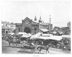 The Market ca 1893 Hamilton Ontario, Vintage Photography, Toronto, Photos, Food, Vintage Style Photography, Pictures, Meal, Photographs