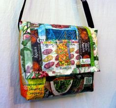 fused upcycled shopping bags - Google Search