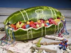 party fruit treasure chest!
