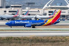 Southwest Airlines, Den, Aircraft, United States, Aviation, Planes, Airplane, Airplanes, Plane