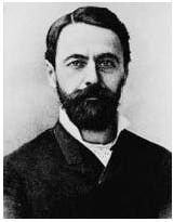 Joseph-Achille Le Bel (1847 – 1930) French chemistry beard and founder of stereochemistry.