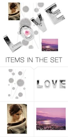 """""""Love"""" by thedecorationqueen on Polyvore featuring art"""