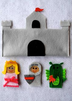 A Song of Sixpence: fairy tale finger puppets