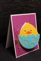 Totally darling card for Easter.