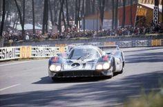 1971 Le Mans 24 Hour - Porsche 917 042 - Martini Racing # 21 - Vic Elford (GBR), Gérard Larrousse (FR) - P2