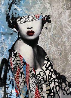 Hush 9  - Street Art by Hush  <3 <3